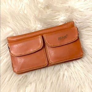 Matt & Nat Brown Faux Leather Foldable Wallet